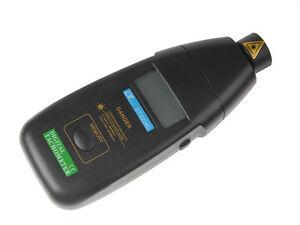 Digital Laser Umdrehungsmesser DT2234C Berührungsloser Tachometer Drehzahlmesser