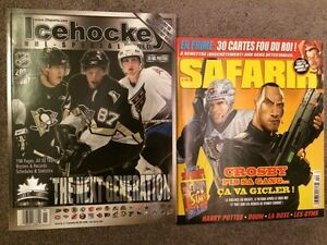 30% TO 40% OFF COVER PRICES OF MAGS WITH SIDNEY CROSBY ON COVERS