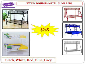 BUNK BEDS- Warehouse Sale- Many models- Delivery $25 & up