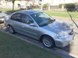 Acura EL 2002 - Low Mileage 89,000 kms