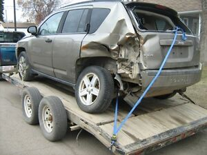 2007 Jeep Compass for parts only 180,000 kms 2.4L automatic