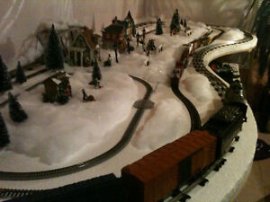 N, HO, O scale Toy train lay out table Kitchener / Waterloo Kitchener Area image 1