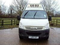 Iveco Daily fridge van with standby