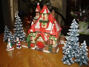 Department 56 North Pole Village - Home of Mr. & Mrs. Claus