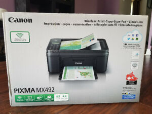 Canon Pixma Wireless Printer Scanner Copier Fax.  Brand New! $40