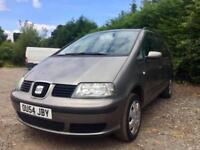 2004 (54 plate) - SEAT Alhambra 1.9 TDI PD Reference 5dr