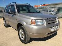 1999 LAND ROVER FREELANDER 1.8 XI 5 DR STAION WAGON LIMITED EDITION