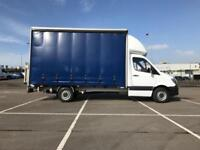 Mercedes-Benz Sprinter 313cdi LWB LUTON CURTAINSIDE VAN W/ TAIL LIFT EURO 5 (201