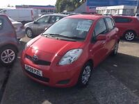 2009/09 Toyota Yaris TR VVT-i in Red
