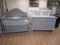 Gorgeous crib and dresser sets