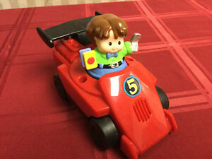Fisher Price Motorized Race Car & Driver Windsor Region Ontario image 2