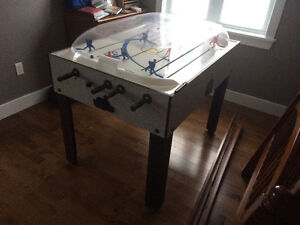 Stand up Rod Hockey/Soccer table