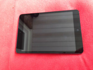 Black iPad 2 mini 16gb