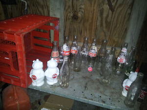 lot of coca cola collectables