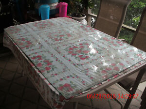 """BEAUTIFUL GLASS DINING ROOM TABLE PROTECTOR """"REDUCED PRICE"""""""