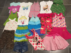 Excellent Condition spring-summer clothes for girl size 5T, 5/6.