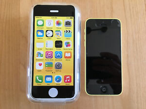 IPhone 5c jaune 8Go