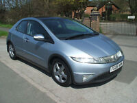 HONDA CIVIC 1.8i-VTEC ES ONLY ONE OWNER FROM NEW READY TO DRIVE AWAY