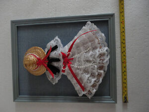HANDMADE VINTAGE LACE DOLL DECORATIVE COLLECTIBLE WALL HANGING London Ontario image 6