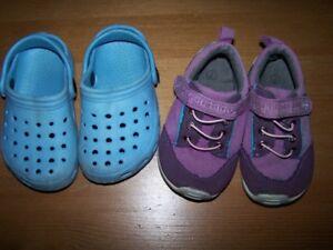 Lot bottes et chaussures 24-2 T filles