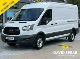 2019 Ford Transit TDCI 130ps LWB Medium Roof L3 H2 350 EURO 6 6 Speed With Elect