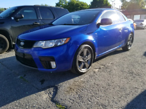 2012 KIA FORTE KOUP EX SAFETY AND E-TESTED