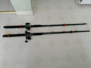 Downrigger rods