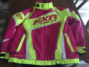 FXR Winter Jacket Girl Size 10 Brand New Condition