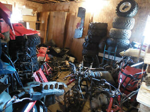 big red and fourtrax parts