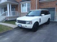 2005 Range Rover white on tan interior *RARE*