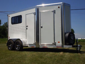 2017 Doyle 2 Horse Bumper Pull with Front Tack Room *Brand New*