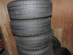 205/65/15 winter tires set of 4 like new only 325.00