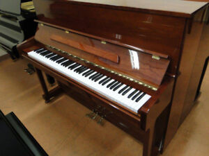 Like New Brown Hoffman & Kuhne Used Piano For Sale