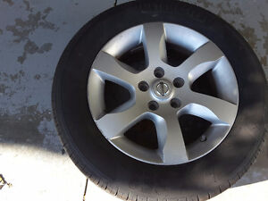 SUMMER TIRES MOTORMASTER   Tires with rims 215/60R 95V MMSE3 Kitchener / Waterloo Kitchener Area image 2