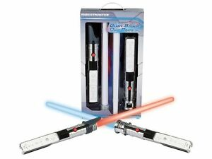 THRUSTMASTER GLOW SABER DUO PACK FOR NINTENDO WII STAR WARS LIGHTSABER BRAND NEW