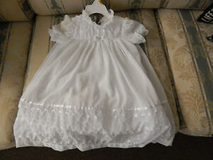 Two piece .Brand new  bride dress with hat