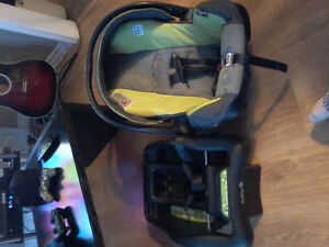 Make an offer, on a evenflo car seat an base, exp nov 2019
