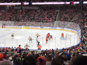 Edmonton Oilers Individual games 4 Seats Side by Side Lower Bowl