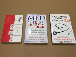 Considering Med School? These books are for you