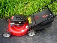 YardMachines 195 cc Lawnmower with Rear Bag