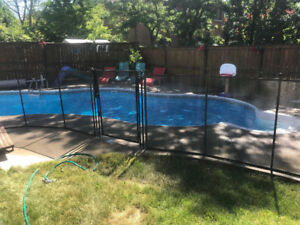 pool protection fence (removable)