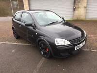 2005 (54) Vauxhall Corsa 1.3CDTi 16v Energy 3 Door Jet Black