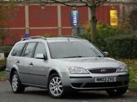 ESTATE Ford Mondeo 2.0TDCi 130 2003.5 +PARKING SENSORS +JUST SERVICED +WARRANTY
