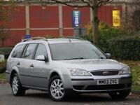 ESTATE Ford Mondeo 2.0TDCi 130 2003.5 +PARKING SENSORS +JUST SERVICED +WARRANTY