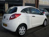 2012 Ford Ka 1.2 ( 69ps ) ( s/s ) Studio 3DR 12 REG Petrol White