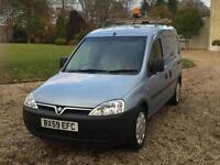 2009 '59' VAUXHALL COMBO 1.3CDTi ONE OWNER JUST 61000 MILES
