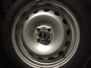 "16"" Mini Cooper winter tire package 4x100 bolt pattern"