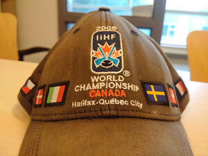 IIHF hat for sale $200 or 6 beers or bottle of rum