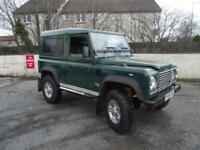 4X4 Land Rover 90 Defender 2.5 Td5. 3 OWNERS FROM NEW FULL SERVICE HISTORY.