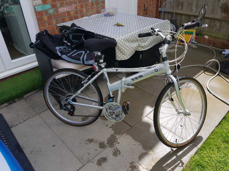 Dahon Espresso foldable folding full size bike with extras, used for sale  Eastbourne, East Sussex